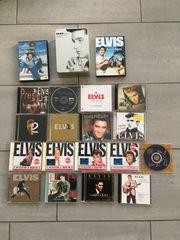 Elvis CD und DVD Sammlungsauflösung