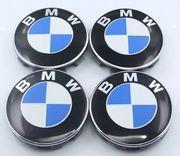 4 Stück BMW 68mm Nabendeckel