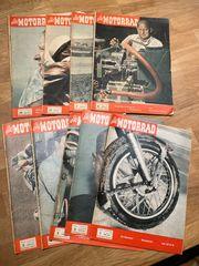 Das Motorrad 1957 Konvolut