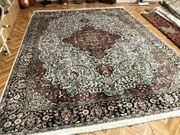 Orientteppich Perserteppich Teppich Seidenteppich 370x270