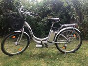Bequemes gut erhaltenes E-Bike
