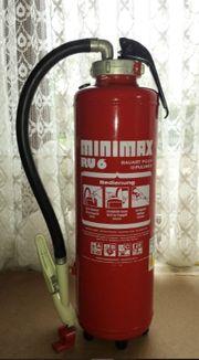 Feuerlöscher Minimax RU6 6 kg