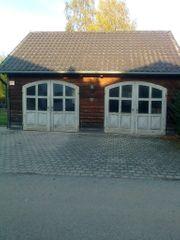 Halle Werkstatt überdachter Platz
