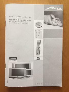 METZ LCD-TV Puros 32: Kleinanzeigen aus Freisbach - Rubrik TV, Projektoren