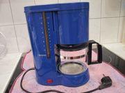Kaffeemaschine von Severin in blau