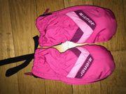 Kinder Skiausrüstung Helm Hose Handschuhe