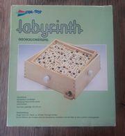 Labyrinth Holzspiel zu verschenken