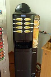 Kaffeevollautomat NECTA COLIBRI Unterschrank Münzwechsler