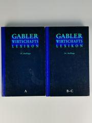 Sammelband Gabler Wirtschaftslexikon von A