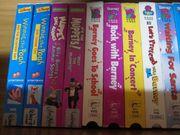 Verschiedene VHS-Videokassetten