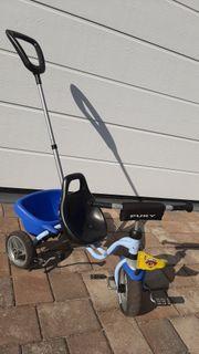 Dreirad von Puky mit Schiebestange