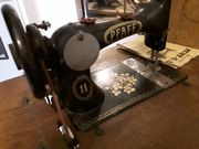 Antike Pfaff 11 Nähmaschine