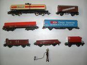 17 Märklin H0 Güterwagen