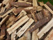 Brennholz ofenfertig trocken Weichholz Hartholz