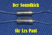 Soundkick für Les Paul Kondensator