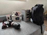 Canon EOS 6D mit Zubehör