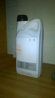 Peugeot Citroen Kühlmittel Frostschutzmittel Pro