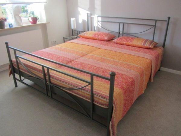 Doppelbett Metall 180x200 cm inkl