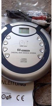 Tragbarer CD Player mit Anti-Shock
