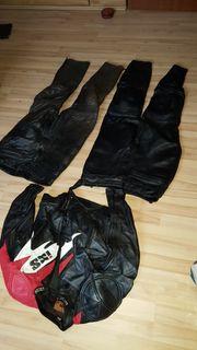 Motorrad-Lederkombi IXS m 2 Hosen