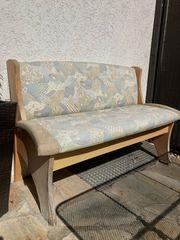 Sitzbank 130 cm zu verschenken