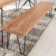 Myhomelando Sitzbank BAGLI Massiv-Holz