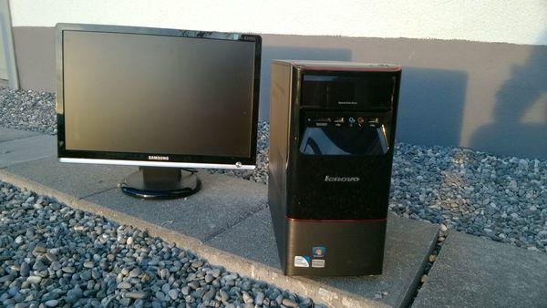 Lenovo Computer PC Set mit