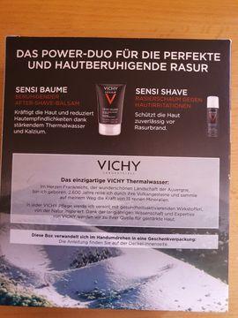 Kosmetik und Schönheit - Vichy Homme Set Rasur Sensitiv-Balsam
