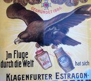 Plakat KLAGENFURTER ESTRAGON DESSERT SENF