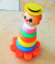 Wackel-Clown mit Glöckchen 29 cm