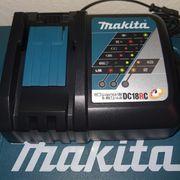 Original Makita DC18RC Schnellladegerät NEU