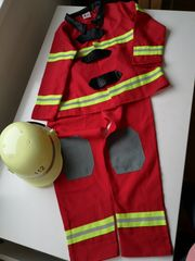 Kostüm Feuerwehr Fasching