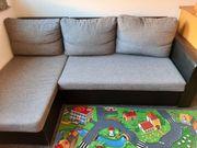 Schlafcouch Sofa mit Stauraum