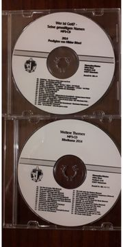 Christliche Musik Bibel CDS Hörspiele -