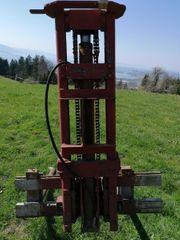 Heckhubwerk für Traktor