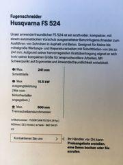 Husqvarna Fugenschneider FS524