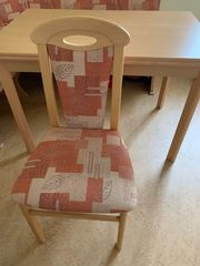 Eckbank und 2 Stühlen mit