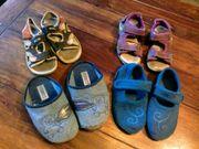 Schuhe Sandalen Hausschuhe Turnschuhe Gr