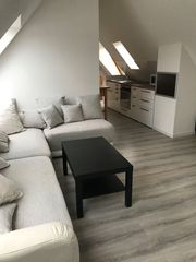 2-Zi-Dachgeschoss Wohnung gemütlich und vollmöbliert