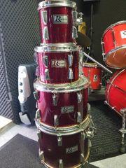 Schlagzeug 4 Toms Rogers vintage