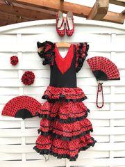 Flamencokleid für Mädchen aus Mallorca