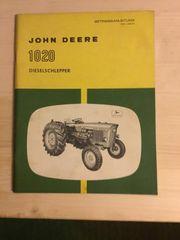John Deere Bedienungsanleitung 1020
