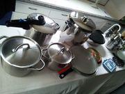 Kochtöpfe Kasserole Eintopf und Topfzubehör