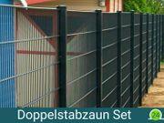 Doppelstab Zaun Set mit Lieferung