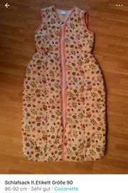 Baby Schlafsack Größe 90 cm