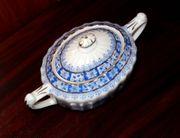 Rarität antike China-Blau Zuckerdose Rosslau