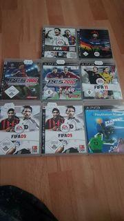 PS3 Fifa Spielesammlung inkl PlayStation