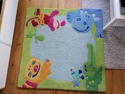 Haba Teppich Dschungel 140x140 Kinderteppich