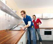 Küchen Montage und Laminat Verlegen
