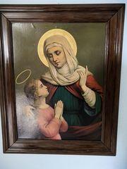 Bild - Die heilige Maria zusammen